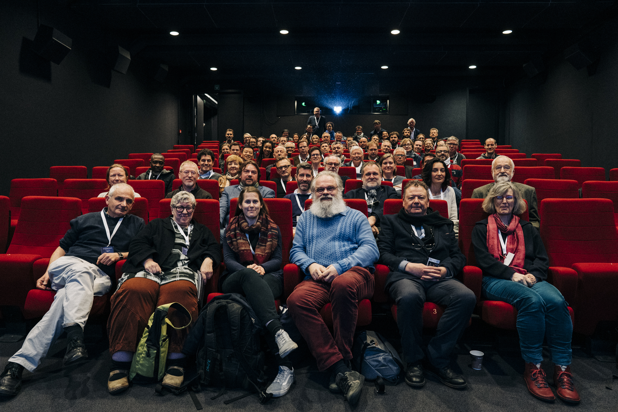 Participants of the Cinematography in Progress 3 conference